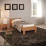 Krok Wood Seniorenbett SiSi aus Massivholz (Buche, 100 x 200 cm)