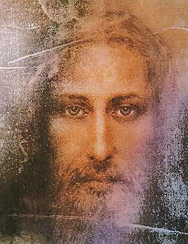 Feeling at Home Kunstdruck-auf-Papier-cm_68_X_53-Archivio-figürlich-Bild-Poster-Religion-Kirche-Jesus-Christus-Gesicht-Porträt