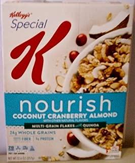 Kellogg's Special K Nourish Coconut Cranberry Almond with Quinoa 12.6 oz. 4 pack