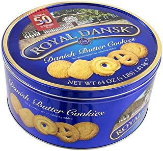 Royal Dansk Butter Cookies 4 Lb.