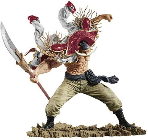 Juguetes DSJSP One Piece Luffy SC Barbablanca Figura Estatua de Juguete Modelo de la decoración del Regalo, 3,1 (Color : 4)