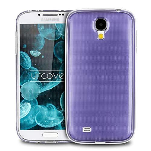 Urcover Samsung Galaxy S4 | Funda Carcasa 360 Grados Ultra Slim Metálico | TPU en Lila | Case Cover Protección Completa Smartphone Móvil Accesorio