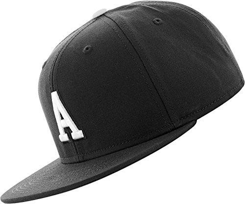 C3 Lettre Snapback Cap - noir - A