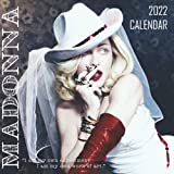 Madonna 2022 Calendar: Yearly Monthly 18-month Calendar 2022 with Large Grid for Planning, Scheduling, and Organizing