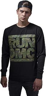 Mister Tee Men's Run Dmc Camo Crewneck Sweatshirt