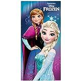 Serviette De Bain - De Plage La Reine Des Neiges Frozen Disney Elsa Anna Microfibre 68x137cm