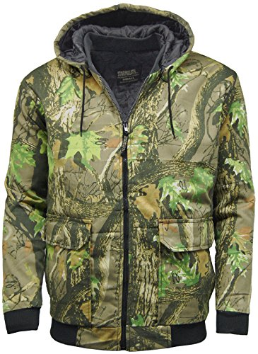 Stormkloth Chaqueta bomber de hombre, con estampado de camuflaje, para cazar, pescar, Hombre, color verde, tamaño XX-Large
