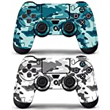 Decal Moments Playstation 4 Controller PS4 Dualshock Controllers Wireless Skin Vinly Skins Decals Stickers Covers Urban Camouflage (Pack of 2)
