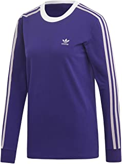adidas Originals Women's 3-Stripes Long-Sleeve Tee