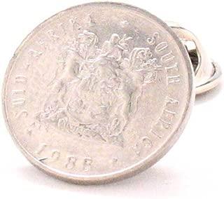 Marcos Villa Silver English Shilling Tie Bar Clip Tiebar Tieclip Coin LDS Missionary Antique Vintage London Britain