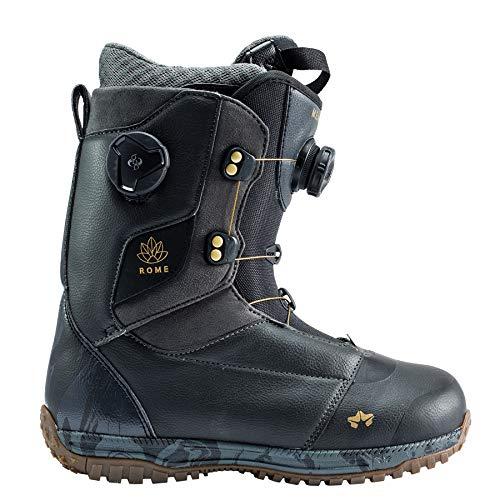 Rome Snowboards Memphis Boa Snowboard Boots–Frauen, schwarz, 6