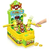 VATOS Whac-A-Mole Game, Mini Electronic Arcade Game with 2 Hammers, Pounding Toys Toddler Toys for 3 4 5 6 7 8 Years Old Boys Girls, Whack A Mole Toy, Developmental Toy Interactive Toy