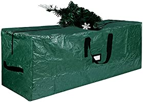 Lulu Home Christmas Tree Storage Bag, Polyester Artificial Tree Storage Bag with Dual Zippers and Sturdy Handles,...