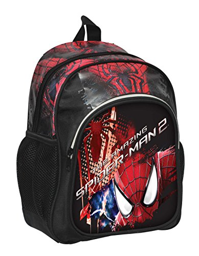Marvel Scuola Asilo o Tempo Libero Marvel Amazing Spiderman 2 Zainetto per Bambini, 33 Cm, Multicolore