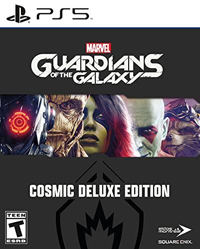 Guardians of the Galaxy PS5 Cosmic Deluxe Edition $79.99  Amazon   Amazon UK…