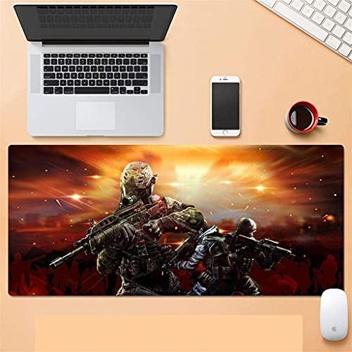 LCFF Grande Alfombrilla de Ratón Gaming Mouse Pad PlayerunkNown's BatterGrounds Extended Mouse Mat Teckero Grande Estera de Teclado Grande 900 × 400mm para computadora Office Computer PC Escritorio