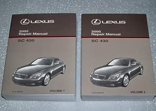 Best lexus sc430 repair manual Reviews