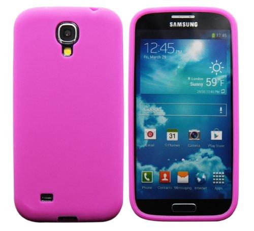 Luxburg In-Colour Design custodia cover per Samsung Galaxy S4 GT-I9505, colore rosa, in silicone TPU