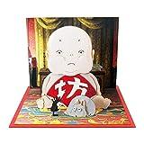 さんけい スタジオジブリmini 千と千尋の神隠し 坊と坊ネズミとハエドリ ノンスケール ペーパークラフト MP07-74