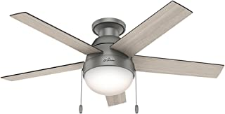 Hunter Fan Company 59270 Hunter Anslee Indoor Low Profile...