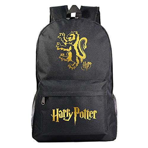 GXB Mochila de los niños de Harry Potter Gryffindor Bolsa de la Escuela Hombres y Mujeres de Ocio Deportes Mochila Bolsa de Cuaderno L Estilo 20