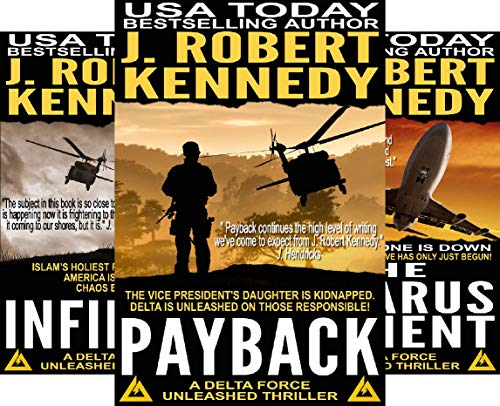 Delta Force Unleashed Thrillers (6 Book Series)