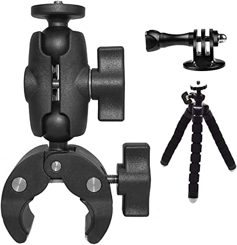 """wholesale MEKNIC Camera Clamp Mount Holder with Ball Head – 360 Swivel Ball Head Camera Clamp Mount – Ball Mount Camera Clamp discount – Clamp Ball Head Camera Mount with ¼"""" Screw and Tripod outlet online sale Adapter outlet sale"""
