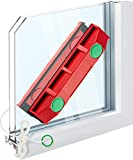 Tyroler Bright Tools The Glider D-3 Magnetic Window Cleaner for Double Glazed Windows Fits 0.8'-1.1' Window Thickness. Glass Cleaner