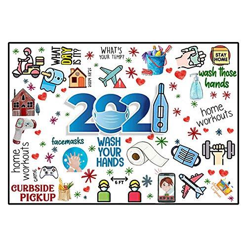 Rompecabezas De Material del Evento 2021,Rompecabezas De 1000 Piezas para Adultos, Rompecabezas De Papel 2021, Regalo Familiar, Regalos De Cumpleaños De Navidad Y Año Nuevo para Amigos (H)