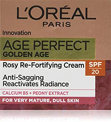 L'Oreal Paris Age Perfect Golden Age Day Cream SPF 20, Face Cream for Mature Skin 50 ml