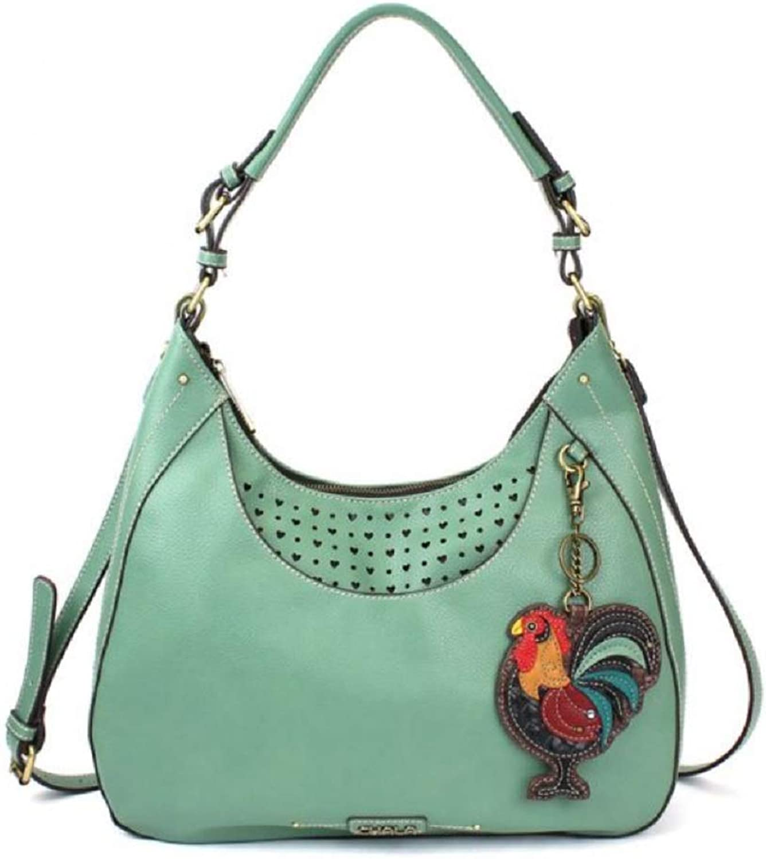 Chala Sweet Tote Bag Rooster  Teal