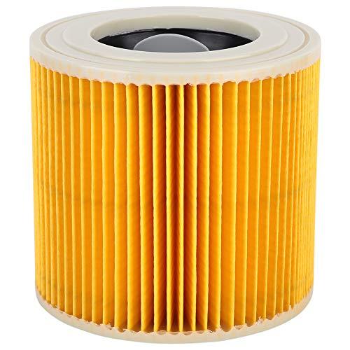Sollmey Adaptador de Accesorios de Filtro de aspiradora húmeda y Seca con Bloqueo de Filtro de aspiradora para Karcher A2004/2054/2204/2656
