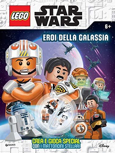 Eroi della galassia. Star Wars. Lego. Super album. Ediz. a colori