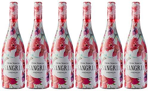 Don Simón Sangría Premium - Pack de 6 Botellas x 750 ml