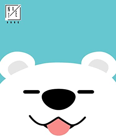 Notebook: Hello Cute Dog Notebook and Lined pages, Extra large (8.5 x 11) inches, 110 pages, White paper (Notebook for Boys)