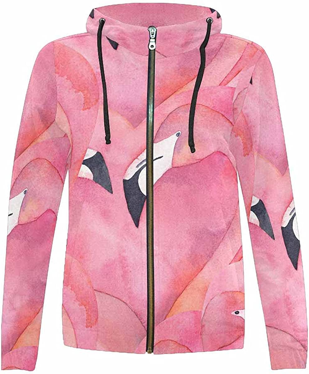 InterestPrint Colorful Cactus Kids SEAL limited product Hoodie Zip Full Draws Inventory cleanup selling sale Jackets