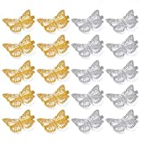 Butterfly Hair Clips, Shangling 20 Pieces Metal...