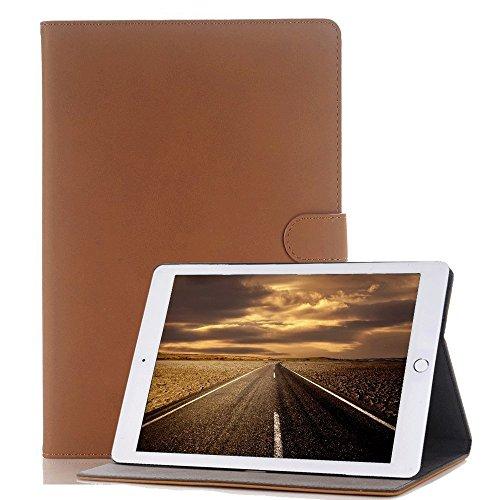 Tasche für Tablet New Apple iPad Air 2,Miya antike hochwertige strukturierte Luxus-Kunstleder-Fallstudie des intelligenten Falles, dünner, heller intelligenter Fall