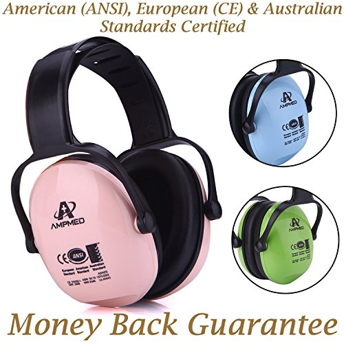 Amplim Hearing Protection Earmuff for Toddlers, Teens and Adults....