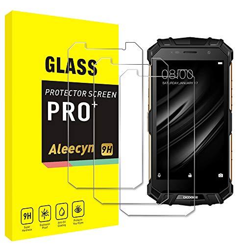 [3 unidades] Protector de pantalla de cristal blindado compatible con Doogee S60 Lite, HD, dureza 9H, resistente a los arañazos, antihuellas, 2,5D, ultratransparente para Doogee S60 Lite