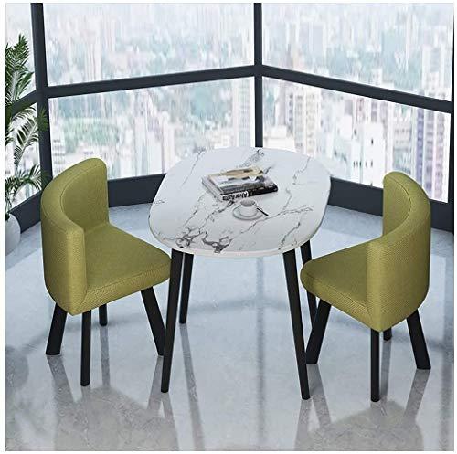 Einfacher Freizeit Tisch Und Eine Kleine Runder Tisch Moderne Zuhause Kreative Dekoration Baumwolle Und Stuhl Eines 2 Stuhl for Die Veranda Annahme Von Flachs Stuhl Zimmer for Eine Kombination