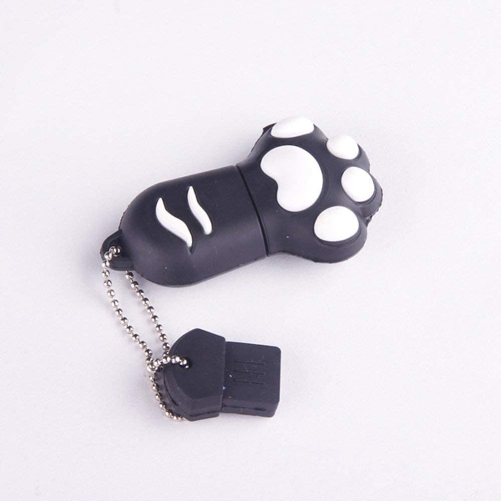 Premium Black Today's only Paw USB Popular products 8GB Flash Memory Drive