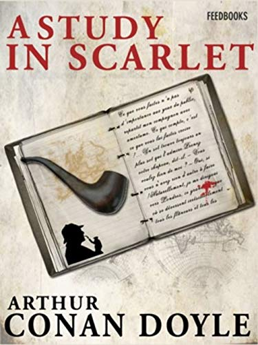 A Study in Scarlet (illustrated) (English Edition