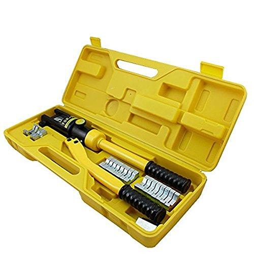LARS360 Hydraulische Presszange 10-300 mm² Crimpzange Quetschzange Kabelschuhe Zange