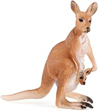 Wild Animal Action Model Toy Kangaroo Figure Home Ornaments Collectibles