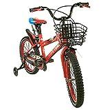 Zerimar Airel Kinderfahrräder für Jungen und Mädchen | Fahrrad mit Rollen und Korb Kinderfahrrad | Fahrrad Kinder 14,16,18 Zoll | Fahrräder Kinder 3-8 Jahre