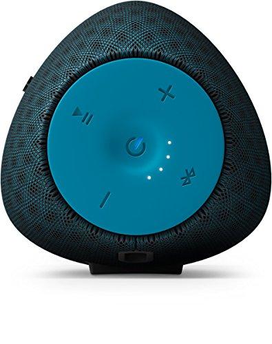 Philips EverPlay BT6900A Altoparlante Wireless Bluetooth Impermeabile, Portatile, Ricaricabile, con Microfono, Leggero, Blu