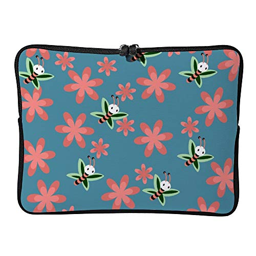 Color : Green, Size : 13inch GUODLIN Computer Liner Bag 11 13 15-inch Notebook Case 5 Colors Can be Choose