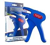 WEICON 51000007 51000007-Pinza spelafili No.7-R, Colore Blu/Rosso, Blue/Red...