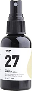 Way Of Will 27 Hydrating Face Spray helps Makeup Setting, Refreshing Facial Toner and Organic Face Mist Infused With Essential Oils 60 ML / 2 FL OZ (Peppermint + Lemon)